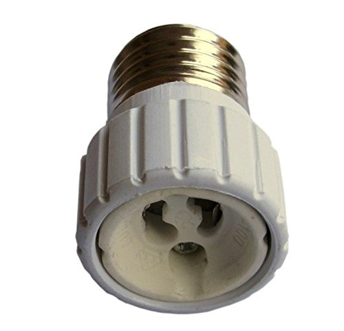 Adaptador para bombillas, de E27 a GU10