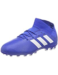 adidas Nemeziz 18.3 AG J, Botas de fútbol para Niños