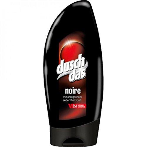 6 mal Duschdas Duschgel Noir 250ml (100ml/0,67€)