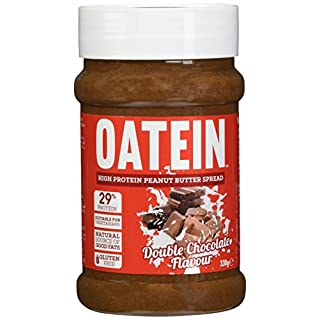 Oatein High Protein Peanut Butter - Vegetarian Palm Oil Free Spread - Double Chocolate