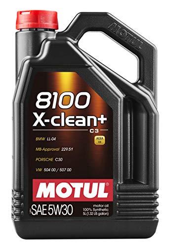 Motul 11113941Motore Olio lubrificante 8100X-Clean + 5W305l