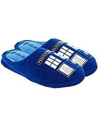 Doctor Who Women's Tardis Slippers