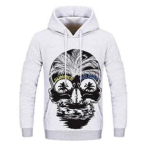 Hoodie Sweatshirt Herren Damen Plot Herbst Winter Lose Drucken Pullover Langarm Outwear Bluse Unisex