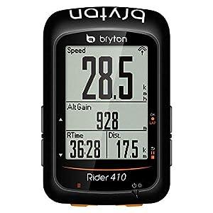 "Bryton Rider 410E GPS Ciclismo, Negro, 2.3"""