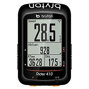 Bryton Rider 410e, Computer GPS Unisex Adulto