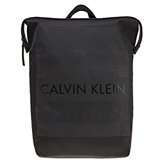 Calvin Klein Addiction Hombre Backpack Negro