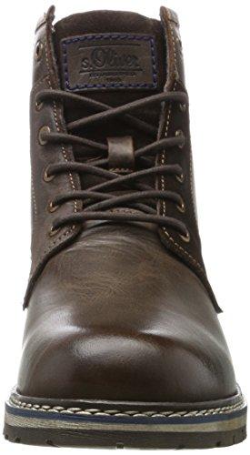s.Oliver Herren 15233 Combat Boots Braun (Brown)