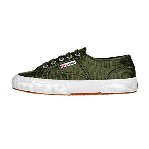 Superga Unisex-Erwachsene 2750-Cotu Classic Kurzschaft Stiefel Military Green