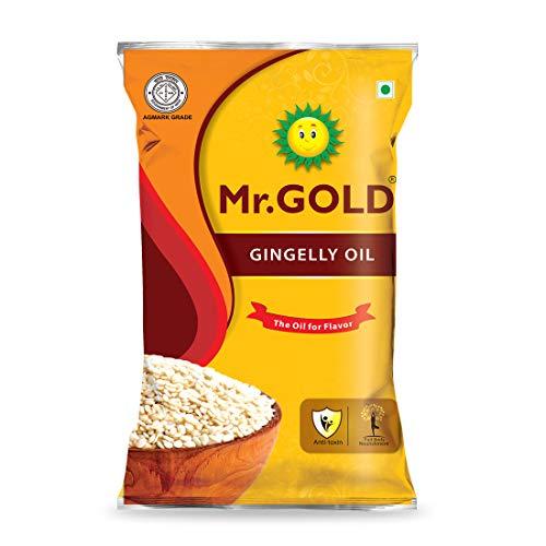MR. GOLD Home Kitchen Gingelly Oil, 1 L