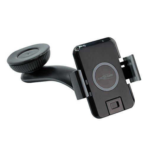 ANSMANN 1001-0026 QI Ladegerät WiLine 1 Induktion Ladestation für Smartphones Wireless Charger drahtlose Samsung Nokia iPhone