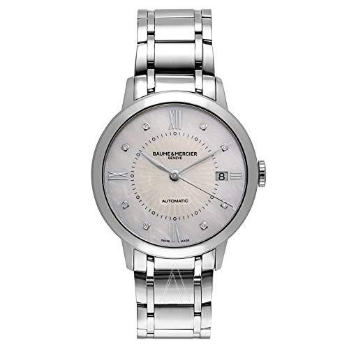 Baume und Mercier Geschäftsreisende Damen Automatik Uhr moa10221
