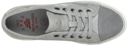 Lico Caroline 540112 Mädchen Sneaker Grau (Grau)