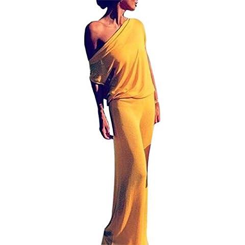 Tongshi Las mujeres de Boho del verano vestido de Long Beach del vestido formal