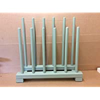 boot rack,ideal for wellington boots, riding boots, green, for 6 pairs, arrives fully assembled