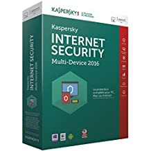 Kaspersky internet security 2016 (1 poste, 1 an)