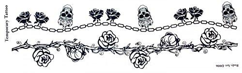 nouvelle conception Longue bande autocollant de tatouage autocollant Longueur 8,66 \\