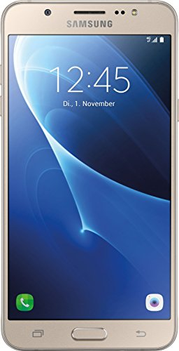 Samsung Galaxy J7 (2016) Smartphone (5,49 Zoll (13,93 cm Touch-Display, 16 GB Speicher, Android Beam), gold