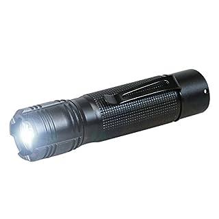 ANSMANN 1600-0034 Agent 1 LED Taschenlampe 12 cm mit Präzisionslinse und extrem robustem Gehäuse 3 Watt LED
