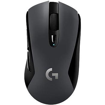 Logitech G603 Mouse per Giochi, Wireless, con Sensore Ottico Hero, 12.000 DPI, Package Italiano