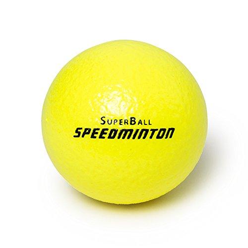 Preisvergleich Produktbild Speedminton Superball Schaumstoffball, Neon Gelb, 9 cm