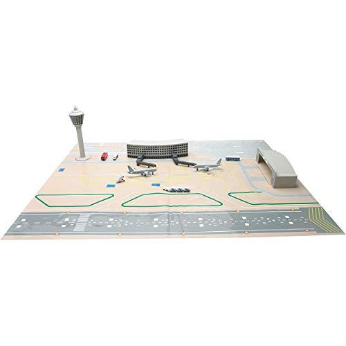 NewRay 7335 - Miniatur-Flughafen-Set (Tabletop-zug-set)