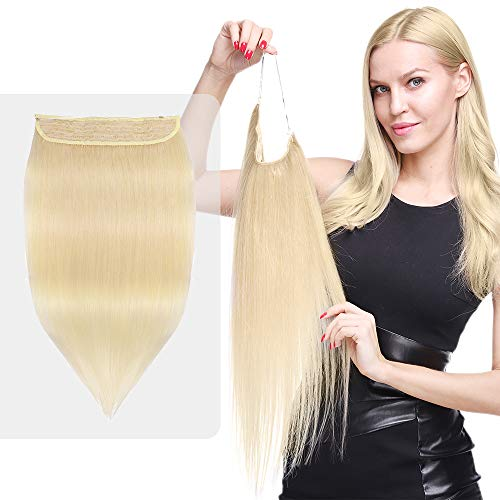 Extensiones Cabello Natural Hilo Invisible Pelo Humano