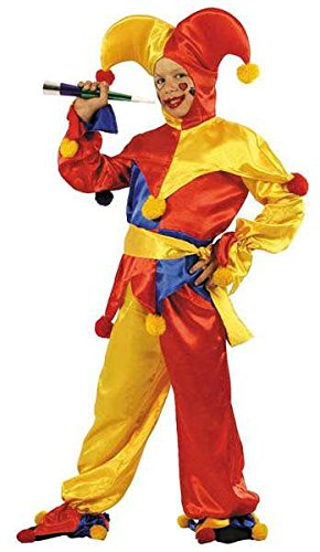 Kinder Kostüm Lach vom König 164, 14/16 (Fou Kostüm Roi Du)