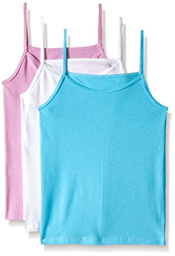Fruit of the Loom Big Girls' Cami, Assorted, X-Large(Pack Of 3) - Girl Cami