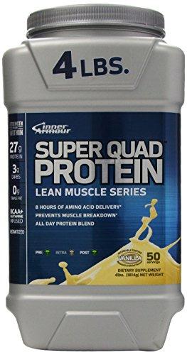 Preisvergleich Produktbild Inner Armour Super Quad Protein Vanilla 1750 g
