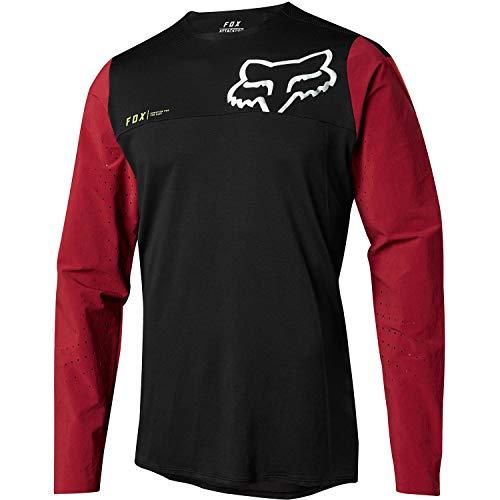 Fox Attack Pro Jersey, Rot/Schwarz, Größe S Fox Attack Jersey