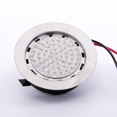 sweet led® 60 LED Einbaustrahler, G4, 12V, warmweiss, Nichtrostender Stahl von Sweet Led bei Lampenhans.de