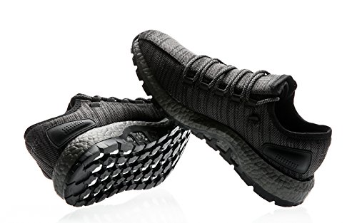 Scarpe Da Ginnastica Adidas Uomo Pureboost All Terrain Nero (negbas / Grpudg / Grmetr)
