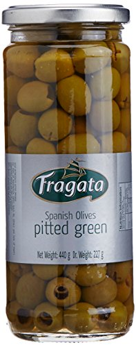 Fragata Green Olives Pitted, 440g