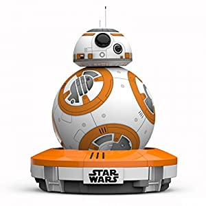 Sphero R001ROW Droide interactivo Star Wars, luces LED incluidas, alcance Bluetooth a hasta 30 metros, compatible IOS, Android y Windows Phone