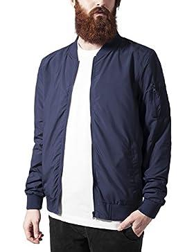 Urban Classics Light Bomber Jacket, Chaqueta para Hombre