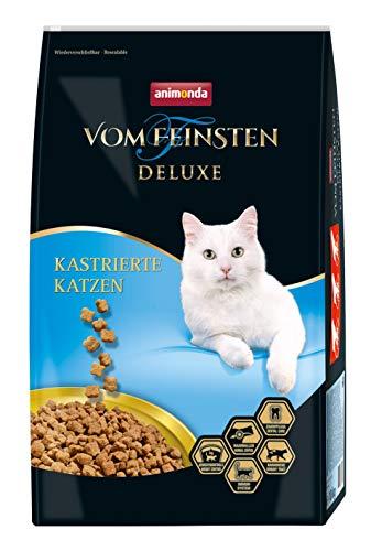 animonda Vom Feinsten Deluxe, Trockenfutter für kastrierte Katzen, aus Geflügel, 10 kg