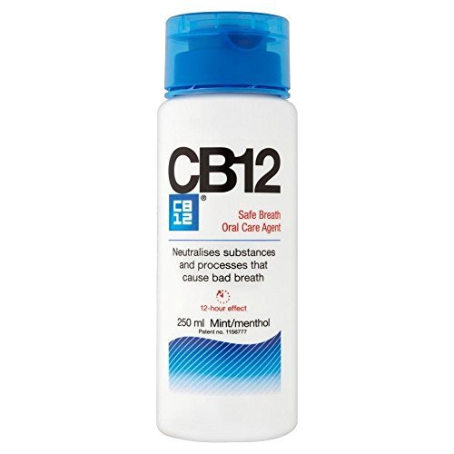 CB12 250ML 2 PACK Mint / Menthol Mouthwash...