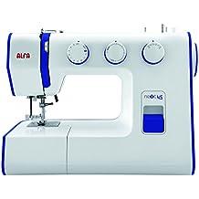 Alfa NEXT 45 Spring - Máquina de coser con 25 puntadas, color azul eléctrico