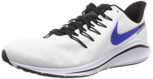 Nike Air Zoom Vomero 14, Scarpe da Trail Running Uomo, Multicolore (White/Racer Blue/Platinum Tint/Black 101), 43 EU