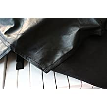 Clairevoire C115 Digital Piano Cover [Limited Edition Black Leatherette] for Yamaha P115 / P105