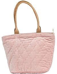 876eec89dd21f The Moshi Damen-Schultertasche gesteppt Florence 42cm rosé braun