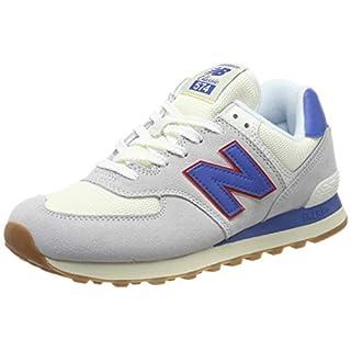 New Balance Herren 574v2 Sneaker, Grau Light Grey, 46.5 EU