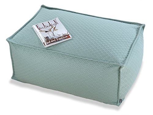 H.O.C.K. Wind Loungehocker 90x60x40cm jade-blue hello