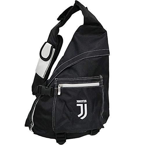 Giemme JU1525  Zaino monospalla, prodotto ufficiale, Nero/Bianco