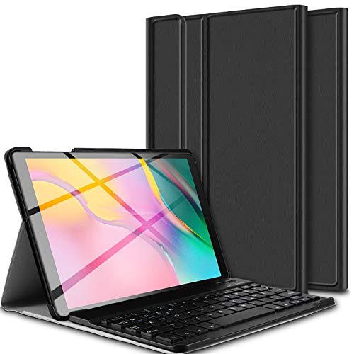 tastiera per tablet 10.1 ELTD Tastiera Custodia per Samsung Galaxy Tab A 10.1 2019