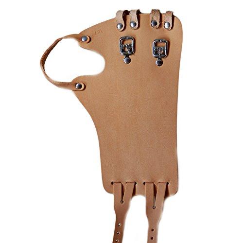 Foto de Muñeca Correa Talla 15Izquierda de ancho | bersecare piel correa vendaje (Fein de vaca de piel) Carril con el dedo pulgar.