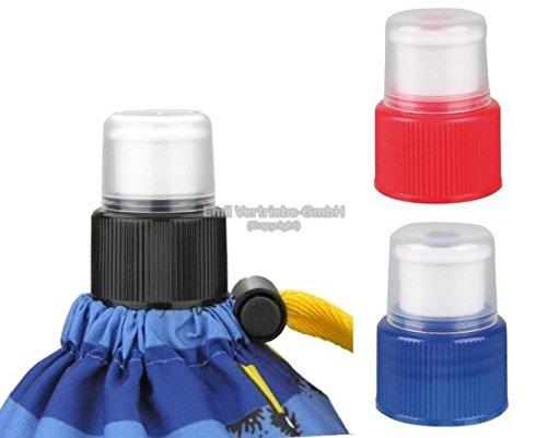 Emil - die Flasche Zubehör wie Trink Cap, Verschluss, Abtropfständer, Fahrradhalter,Flaschenbürste (Trink Cup Blau)