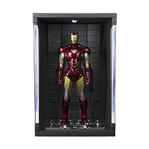 BANDAI-Iron Man MK Vi y Set Hall de Armaduras, Figura de (BAN14345) 3