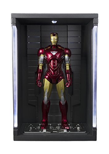 Bandai Iron Man Mk VI und Set Hall Rüstungen, Figur 15cm, Marvel-Iron Man S.H. Figuarts (bdimv143451)