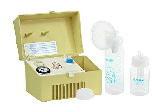 Flaem Baby P400P00 Tiralatte Elettrico Portatile, Giallo
